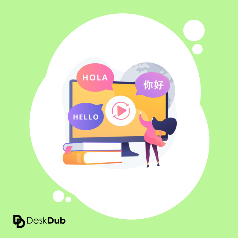translate video to english subtitles | deskdub online automatic video caption and translation software website
