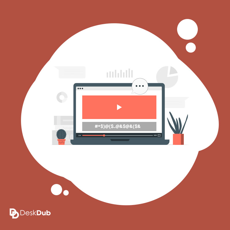 how to caption and transcribe video